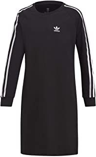 adidas Originals Girls' Big 3-Stripes Dress