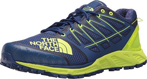 The North Face M Ultra Endurance II, Zapatillas de Deporte para Hombre, Azul (Bright Blue/Dayglo Yellow 4Cu), 41 EU
