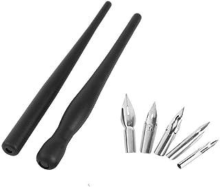1 Set Manga Cartoon Comic Drawing Painting Kit Tool with 2 Pen Holders and 5 Nibs
