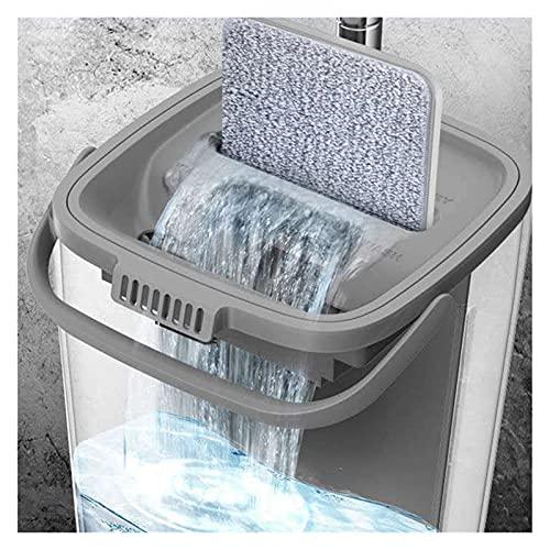 fregar Paño de microfibra Mop for el suelo de lavado Casa y productos de cocina Herramientas de limpieza Cubo con accesorios de mango Suministro de agua Nuevos artículos Durable y fácil de instalar