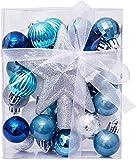 Y DWAYNE Decoraciones para árboles de Navidad Bolas para árboles de Navidad Adornos navideños 30pcs 3cm Adornos para Bolas de Navidad Decoración Árbol de Navidad Adorno Colgante Boda