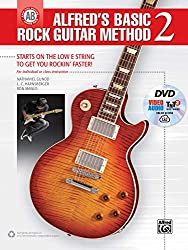Alfred\'s Basic Rock Guitar Method 2: Starts on the Low E String to Get You Rockin\' Faster! for Individual or Class Instructions, Play Loud