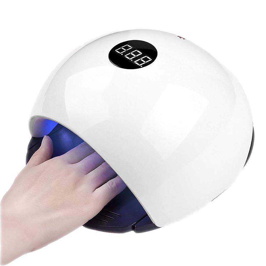 ズーム考慮付録釘のドライヤー - 自動赤外線センサー、二重光源のLEDランプのゲルのドライヤーのマニキュアが付いている紫外線携帯用LEDの釘ランプ