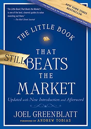 The Little Book That Still Beats the Market: 29