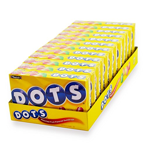DOTS Assorted Fruit Candy 65 Oz Box Pack of 12