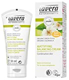Lavera Organic Green Tea & Calendula Mattifying Balancing Cream - For Combination Skin 50ml