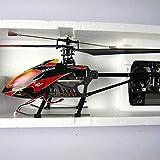 Ycco RC Avion modèle d'avion Avion hélicoptère télécommandé intérieur avec Gyroscope et lumière LED 3.5 canaux Mini Jouet pour Enfants Adultes débutants Cadeau