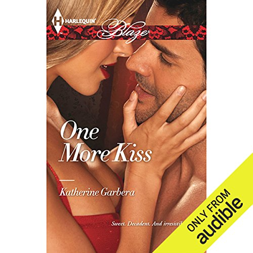 One More Kiss audiobook cover art