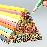 Lápices de colores 36/72 lápices de colores profesionales de plomo de color aceitoso Set de arte Suministros de dibujo (tamaño: tamaño libre; color: 36 colores)