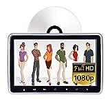 Car Headrest DVD Player,10.1 Inch HD 1024 x 600 Monitor, 1080P Video, USB