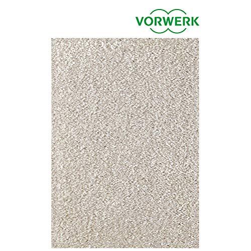 Vorwerk vlakpolig tapijt eenkleurig in lichtgrijs woonkamer Muster bestellen