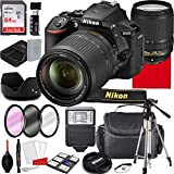 Nikon D5600 DSLR Camera Kit with 18-140mm VR Lens   Built-in Wi-Fi   24.2 MP CMOS Sensor   EXPEED 4 Image Processor and Full HD 1080p Video Recording at 60 fps  SnapBridge Bluetooth (28PC Bundle)