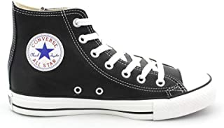 converse all star negras piel mujer