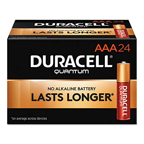 Duracell QU2400BKD Quantum Alkaline Batteries, AAA, 24/BX