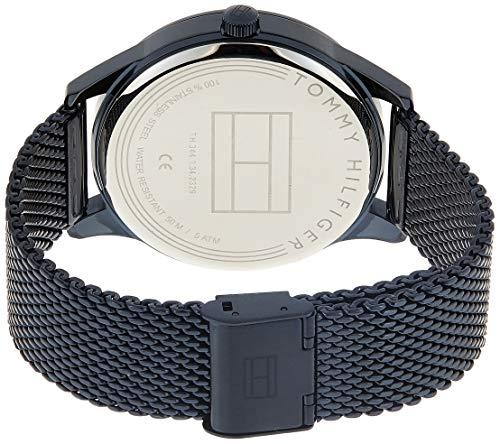 Tommy Hilfiger Homme Multi-Cadrans Quartz Montre avec Bracelet en Acier Inoxydable 1791421