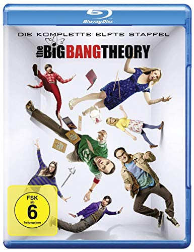 Cover The Big Bang Theory - Staffel 11 [Blu-ray]