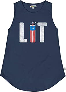Women's Hilarious Patriotic Americana Tank Tops - USA Stars and Stripes Tanks