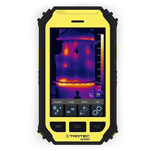 TROTEC Wärmebildkamera AC080V Infrarotkamera Ortung Leckortung Tablet Prüfgerät Messgerät