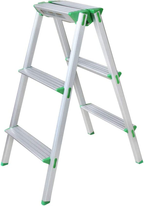PENGJIE Folding Ladder Step Stool 3 Aluminum Brand Spring new work one after another Cheap Sale Venue