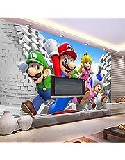 Aangepaste Grote Foto Behang Super Mario Muurschildering Klassieke Games Behang Kamer Decor Muur Art Slaapkamer Hal Achtergrond Muur
