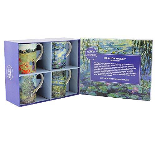 Leonardo Collection Monet Tazze, Set di 4