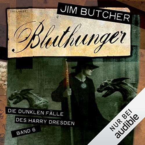 Bluthunger audiobook cover art