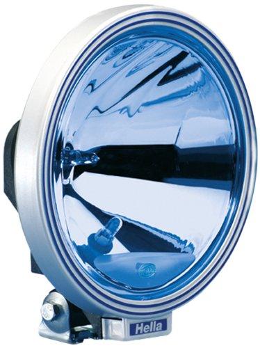 HELLA 1F8 006 800-321 Fernscheinwerfer - Rallye 3000 - FF/Halogen - H1/W5W - 12V/24V - rund - Ref. 37,5 - blau - Anbau - Einbauort: links/rechts