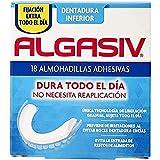 Algasiv Almohadillas Adhesivas Para Dentaduras Postizas Inferiores, 18 Unidades. Dura Todo El Día Y Protege Las Encías