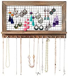 The 15 best hanging jewelry organizers reviewed floral beauty spot buy now solutioingenieria Choice Image
