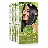 Naturtint Coloración Permanente Sin Amoniaco | 100% Cobertura de canas. Ingredientes Naturales....