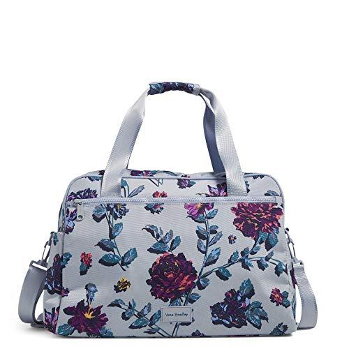 Vera Bradley Women's Recycled Lighten Up Reactive Weekender Travel Bag, Neon Ivy, One Size