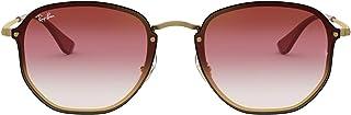 نظارة شمسية راي بان طراز RB3579N بتصميم سداسي من مجموعة بلايز
