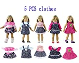 Dolls Accessories . - Set Doll Clothes for 18 Inch American Doll Doll Handmade Casual Wear - by Stephanie - 1 PCs