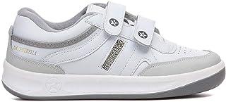Paredes Velcro Blanco Deportivo Estrella Trabajo, Comodidad, Plantilla momery Foam, Seguridad, Cordones, 35