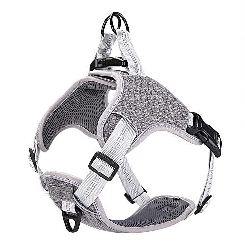 Arnés para perros Pet Vest Dog Harness and Leash Set Reflective Breathable Mesh Walking Harnesses Anti Pull For Small Medium Large Dog Supplies Arnés para gatos
