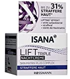 ISANA Lift Triple Nachtcreme - Wirksamer Lift Effekt, 50 ml
