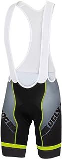 comprar comparacion Uglyfrog Ciclismo Hombres Bib Pantalones Cortos Ropa Interior de Bicicleta con 3D Gel Acolchado MTB Ciclismo for Summer