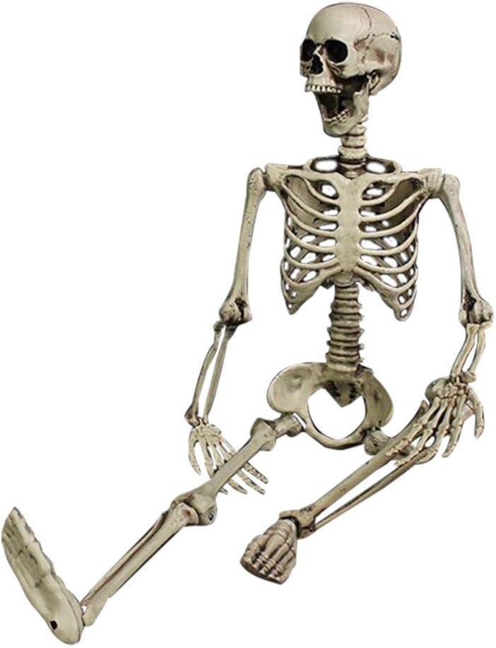 3 Ft Halloween Skeleton Life Size Realistic PP Portland Price reduction Mall Mat Bones Human
