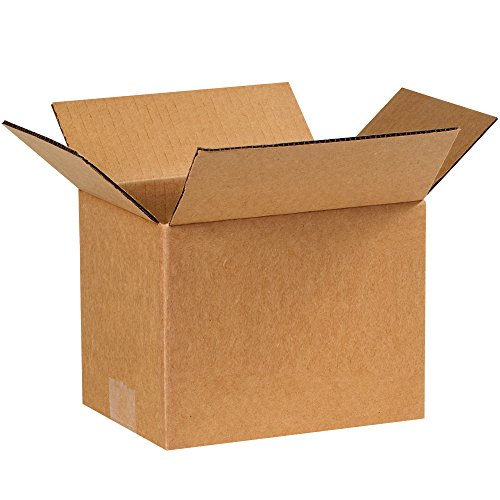 Partners Brand P866 Corrugated Boxes, 8'L x 6'W x 6'H, Kraft (Pack of 25)