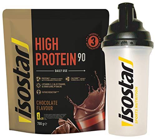 Isostar Powerplay High Protein 90 Choco - Coctelera (Choco)