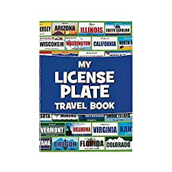 My License Plate Travel Book (affiliate)