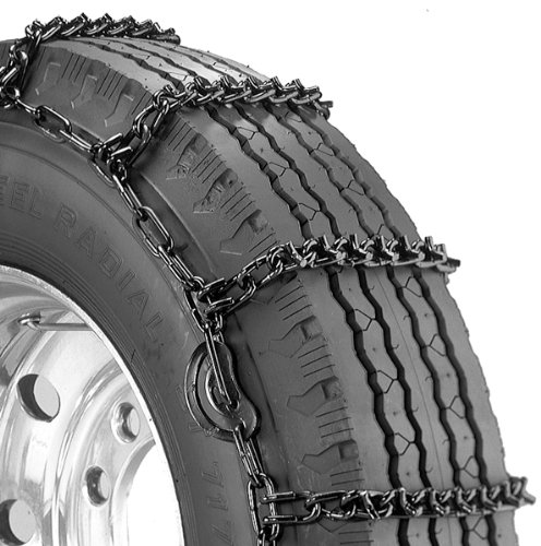 Security Chain Company QG2839CAM Quik Grip V-Bar Truck Single CAM RS Tire Traction Chain - Set of 2