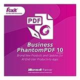 Foxit Phantom PDF Business 10(日本語版) ダウンロード版