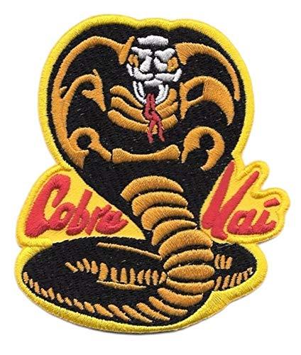 Cobra Kai Karate Kid Embroidered Iron/Sew-on Comic Cartoon Theme Logo Patch/Applique