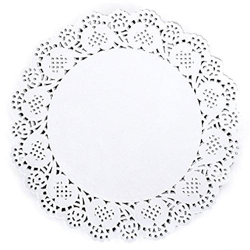 Bestblue Paper Lace Doilies 10.5 Inch (Set of 180(TypeB))
