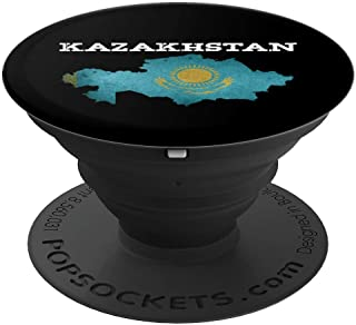It's In My DNA Kazakh Design Heritage Kazakhstan Flag Gifts - PopSockets Grip and Stand for Phones and Tablets
