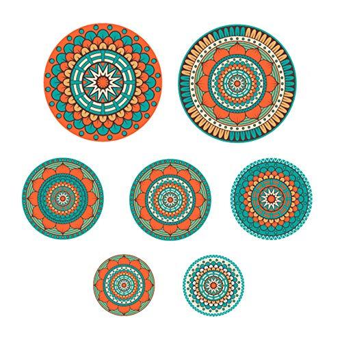 Plato de cerámica de Pared, Home Studio Hotel Bar Fondo Decorativo para Colgar en la Pared Art Plate