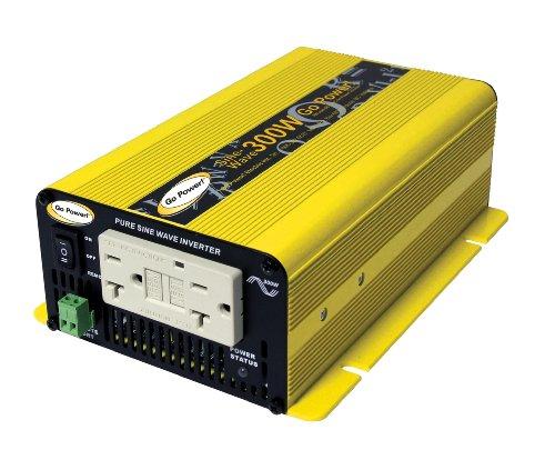 Go Power! GP-SW300-12 300-Watt Pure Sine Wave Inverter