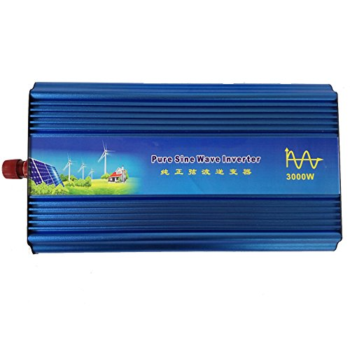 Holdwell DC 12V to AC 220V AC200-240V Power Pure Sine Wave Inverter 3000W