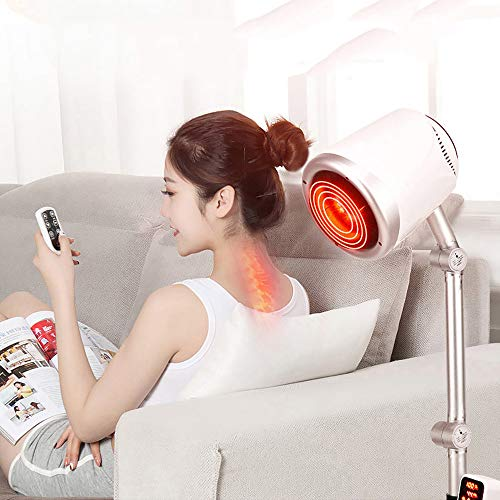 Best Bargain YLTTZ Infrared Light Heating Floor Lamp Electric Moxa Device LED Red Light Therapy for ...